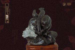 精致典雅的菊花石雕刻艺术