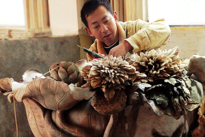 菊花石雕刻的历史地位
