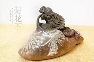 菊花石雕回归传统 更应走向市场