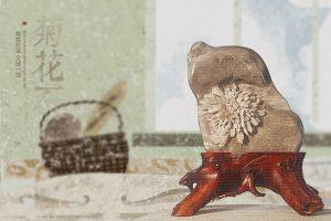 菊花石雕刻设计是一道美丽的风景线