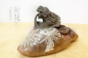 菊花石雕刻题材之马
