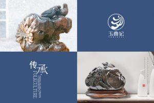 菊花石雕喜鹊题材文化