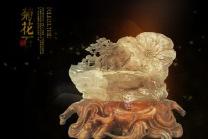 与传统文化的融合是菊花石雕题材设计的历史使命