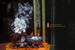 菊花石雕摆件的题材寓意分类