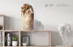 菊花石雕中的瑞兽题材