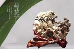 彩色菊花石的成型之谜