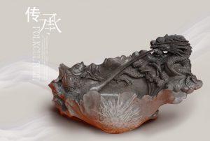 菊花石雕刻创作中最怕遇到什么情况