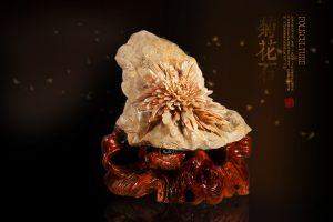 中国彩色菊花石惊艳世界